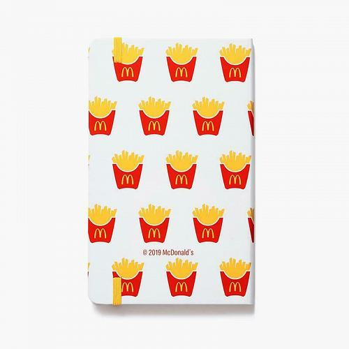 New McDonald World Famous Fries Journal Writing Hardcover Soft Touch Free Ship