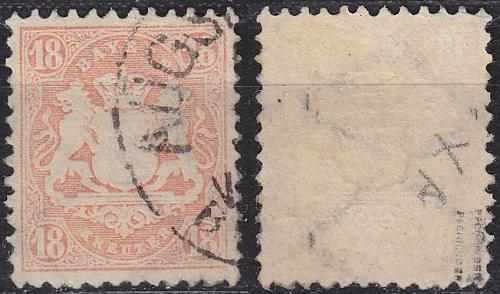 GERMANY Bayern Bavaria [1870] MiNr 0027 X a ( O/used ) [01]