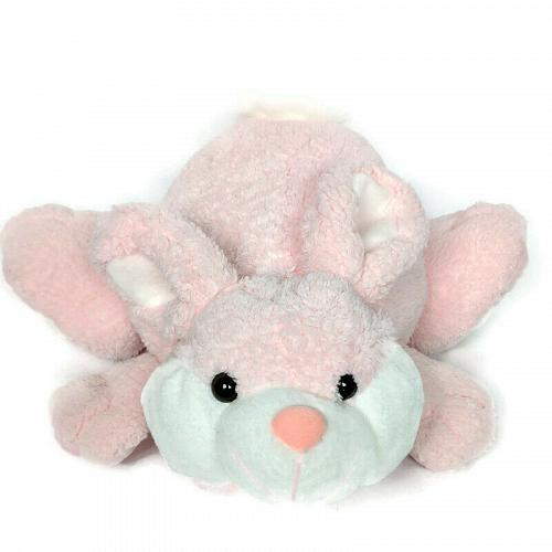 Best Made Toys Pink Easter Spring Bunny Rabbit Plush Stuffed Animal 11""