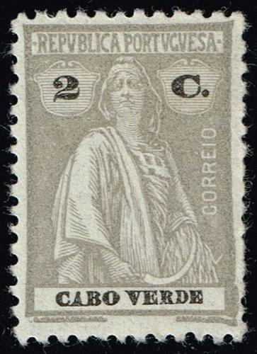 Cape Verde #178 Ceres; Unused (2Stars) |CPV0178-02XRS