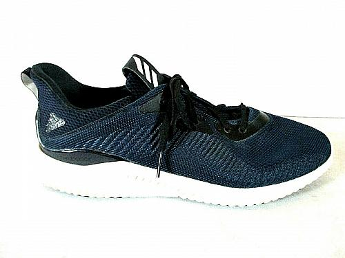 Adidas Alpha Bounce Blue Black Lace Up Athletic Sneakers Shoes Men's 16 (SM6)