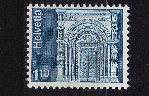 SCHWEIZ SWITZERLAND [1975] MiNr 1068 ( **/mnh ) Architektur