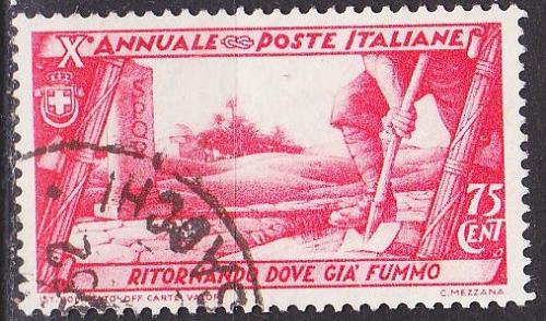 ITALIEN ITALY [1932] MiNr 0424 ( O/used )