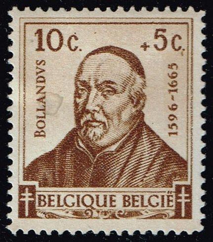 Belgium #B319 Jean Bollandus; Unused (0.25) (2Stars)  BELB0319-01XVA