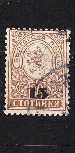 BULGARIEN BULGARIA [1892] MiNr 0038 ( O/used )