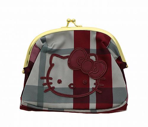 New Hello Kitty Kiss Lock Purse: Travel Free Shipping