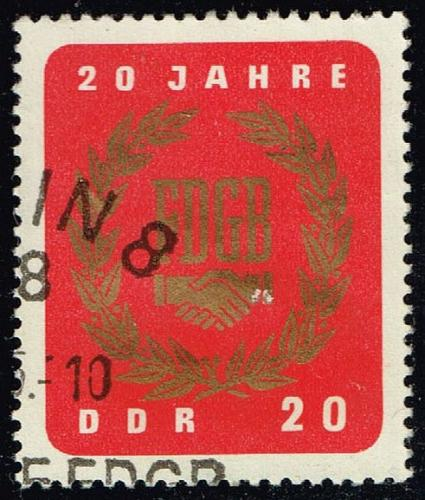 Germany DDR #773 Free German Trade Union; CTO (0.25) (2Stars) |DDR0773-02