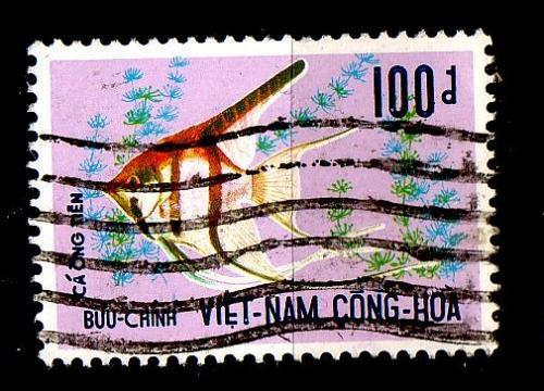 VIETNAM SÜD SOUTH [1971] MiNr 0482 ( O/used ) [01] Fische