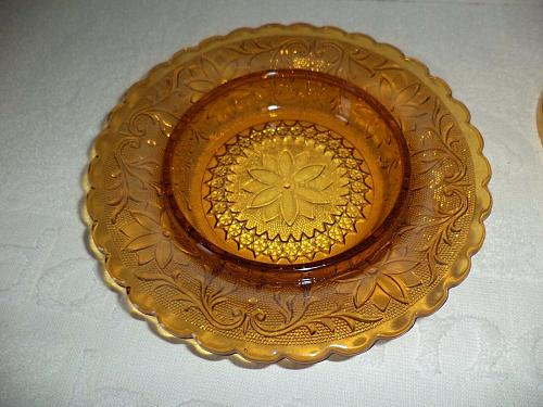 Tiara Indiana Amber Butter Dome