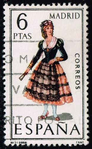 Spain **U-Pick** Stamp Stop Box #158 Item 22  USS158-22