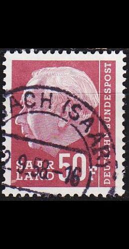 GERMANY Saar [1957] MiNr 0422 ( O/used )