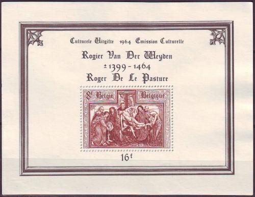 BELGIEN BELGIUM [1964] MiNr 1363 Block 31 ( oG/no gum )