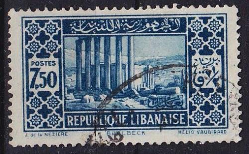 LIBANON LEBANON LIBAN [1930] MiNr 0180 II ( O/used )