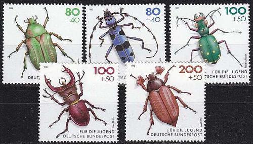 GERMANY BUND [1993] MiNr 1666-70 ( **/mnh ) Tiere