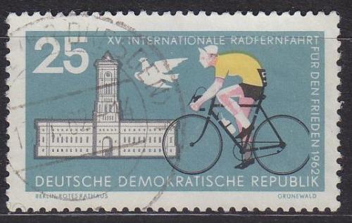 GERMANY DDR [1962] MiNr 0888 ( OO/used ) Sport