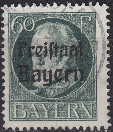 GERMANY Bayern Bavaria [1919] MiNr 0162 A ( O/used ) [01]