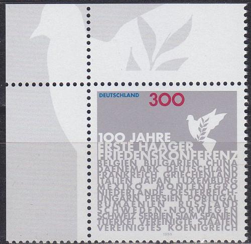 GERMANY BUND [1999] MiNr 2066 ( **/mnh )
