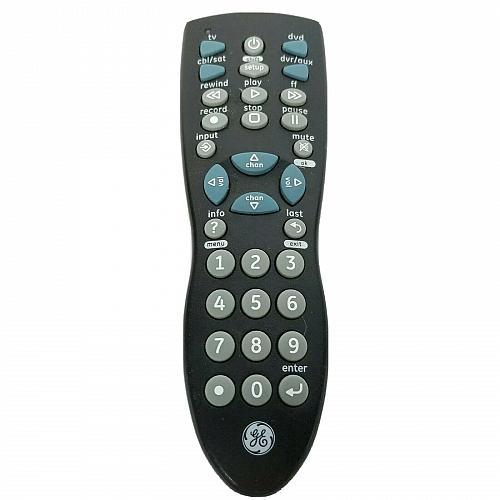 Genuine GE Universal TV DVD Remote Control 24944-V2 Tested Works