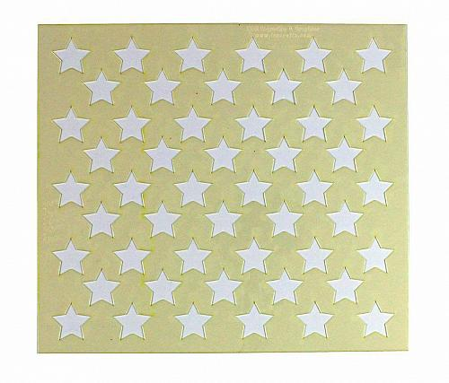 """50 Star Field Stencil 14 Mil -8.5""""H X 9.5.L"""" - Painting /Crafts/ Templates"""