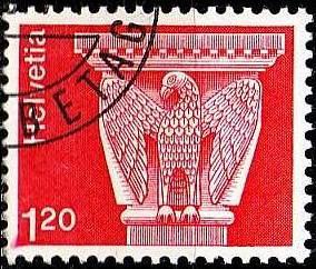 SCHWEIZ SWITZERLAND [1974] MiNr 1036 ( O/used ) Architektur