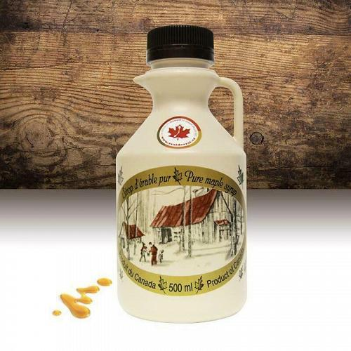3 product 100% Quebec PURE Canadian Maple Syrup 3 x 500 ml FREE SHIP Grade A