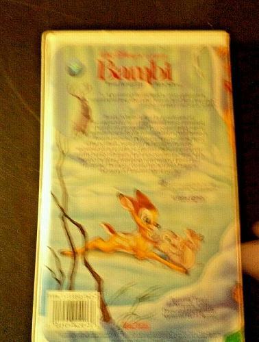 Walt Disney Classic Bambi 1989 VHS942