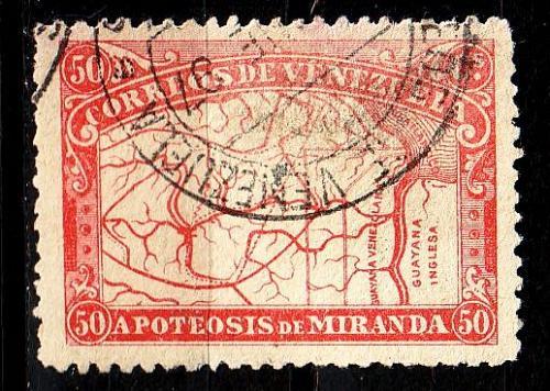 VENEZUELA [1896] MiNr 0051 ( O/used )