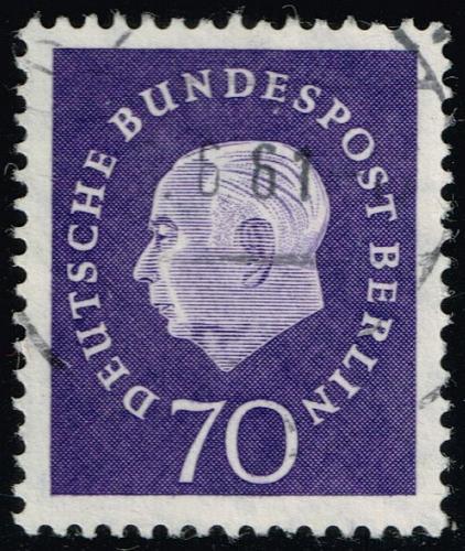 Germany #9N169 Pres. Theodor Huess; Used (4Stars)  DEU9N169-01XRP