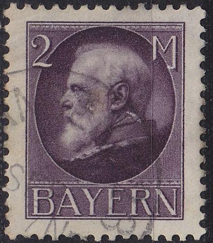 GERMANY Bayern Bavaria [1914] MiNr 0105 I ( O/used ) [01]