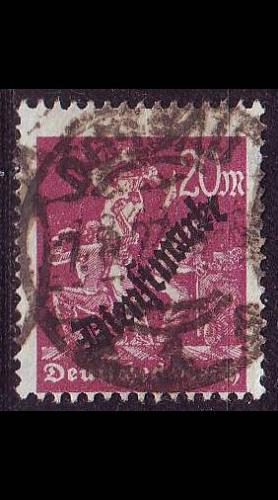 GERMANY REICH Dienst [1923] MiNr 0075 ( O/used )