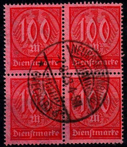 GERMANY REICH Dienst [1922] MiNr 0074 ( O/used ) [01]