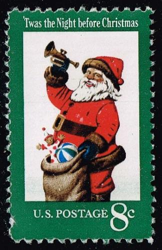 US #1472 Santa Claus; Used (3Stars) |USA1472-05