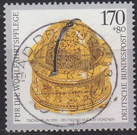 GERMANY BUND [1992] MiNr 1635 ( O/used ) Kunst