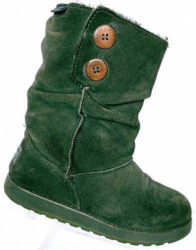 Skechers Australia Women's Keepsakes Brown Suede Winter Boots Size 7.5