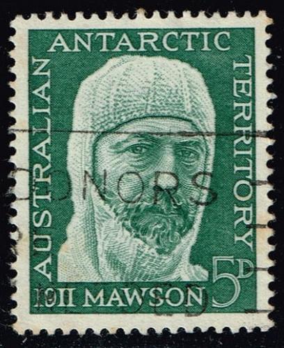Australia #L7 Sir Douglas Mawson; Used (0.40) (2Stars)  AUSL007-05XBC