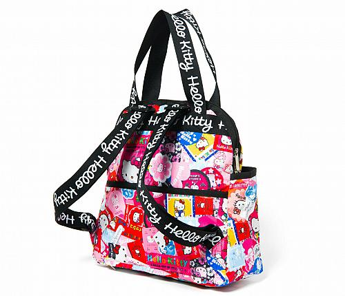 New Hello Kitty LeSportsac x Hello Kitty Double Trouble Backpack Free Shipping