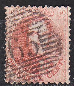 BELGIEN BELGIUM [1863] MiNr 0013 B ( O/used ) [02]