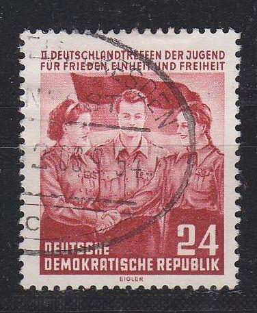 GERMANY DDR [1954] MiNr 0429 ( OO/used ) [01] Bahnpost