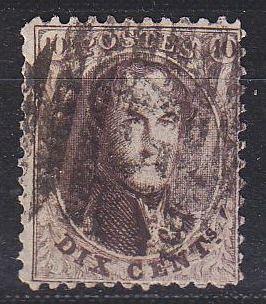 BELGIEN BELGIUM [1863] MiNr 0011 A ( O/used )