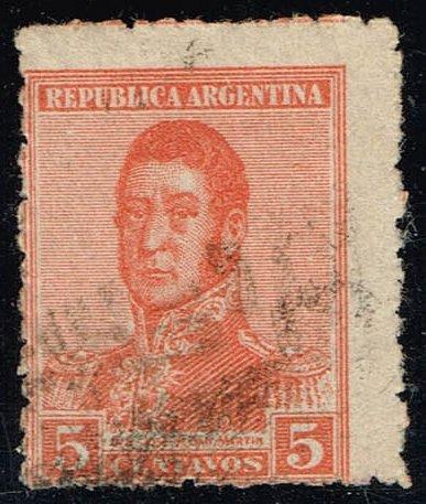 Argentina #253 Jose de San Martin; Used (0.25) (1Stars) |ARG0253-04XBC