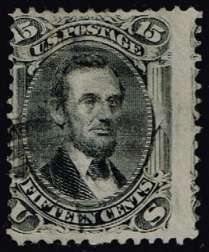 US #98 Abraham Lincoln; Used (1Stars) |USA0098-01XRP