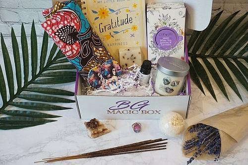 Black Magic selfcare wellness spa box gift set kit beauty free shipping