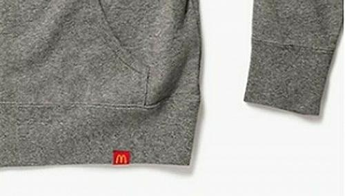 New McDonald World Famous Sesame Seed Zip Hoodie Free Shipping S M L 2XL 3XL