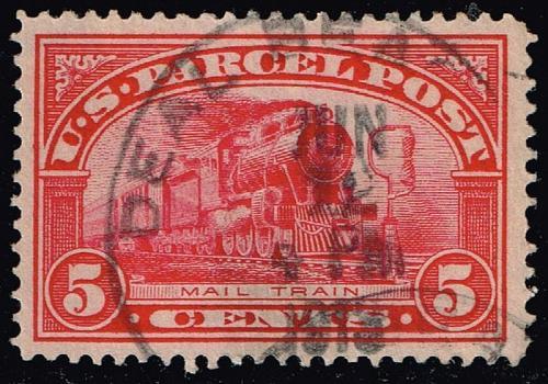 US #Q5 Mail Train; Used (4Stars) |USAQ05-06XRP