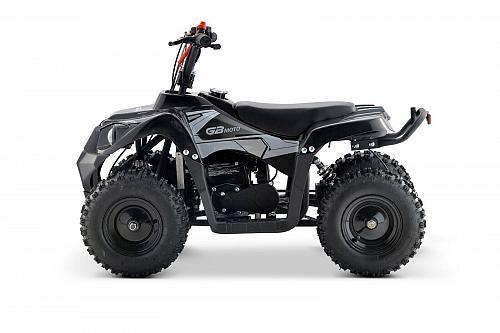 Kids Gas Powered Four Wheeler White 4 Stroke 40CC Ride On Mini Quad ATV Outdoor