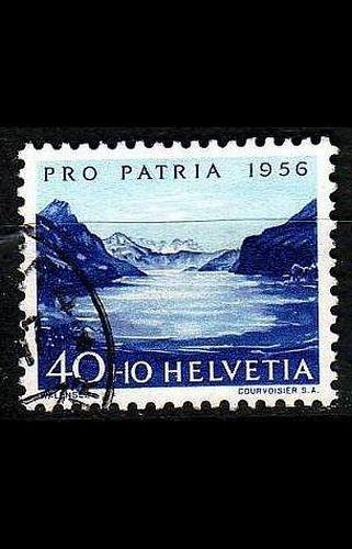 SCHWEIZ SWITZERLAND [1956] MiNr 0631 ( O/used ) Pro Patria