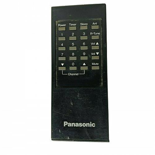Genuine Panasonic TV Remote Control TNQ24091 Tested Works