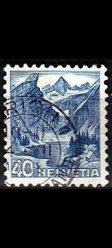 SCHWEIZ SWITZERLAND [1948] MiNr 0505 ( O/used ) Landschaft