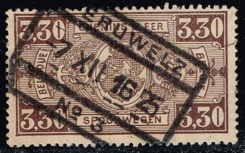 Belgium #Q161 Parcel Post & Railway; Used (1.40) (2Stars)  BELQ161-02XBC
