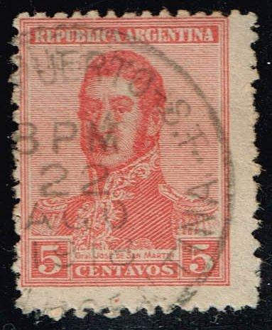 Argentina #253 Jose de San Martin; Used (0.25) (1Stars) |ARG0253-07XBC